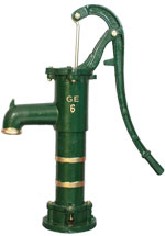 Heavy Water Hand Pump